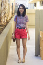 Navy-american-apparel-shirt-ruby-red-american-apparel-shorts