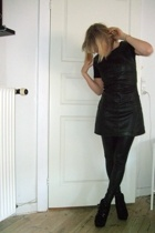 just female dress - leggings - Topshop boots