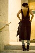 Naomi & Lavender top - Zara jeans - H&M hat