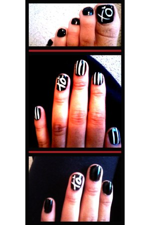 black nail polish china glaze accessories