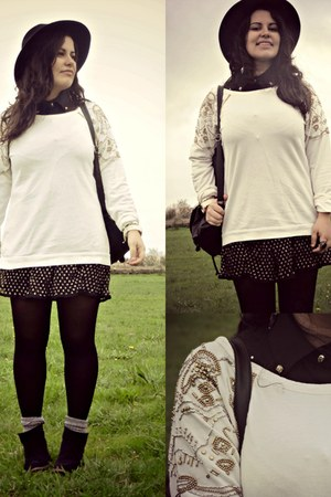 pull&bear sweater - Forever 21 skirt