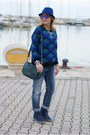 Blue-boyfriend-jeans-pull-bear-jeans-blue-chicwish-sweater