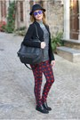 Black-studded-roberto-botticelli-shoes-black-carla-g-blazer