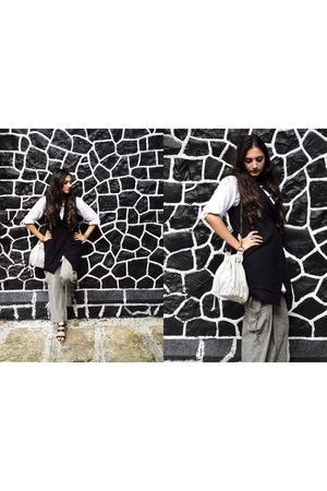Promod vest - Mango pants - Oberoi accessories