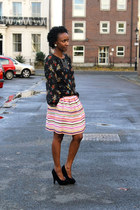 Puff striped skirts: Stripes & Floral