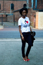 T-shirt, blazer & jeans: Fashion Basic