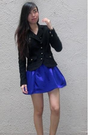 asos jacket - Topshop skirt