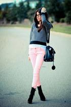 Modekungen boots - J Brand jeans - Ami Dans La Rue sweater