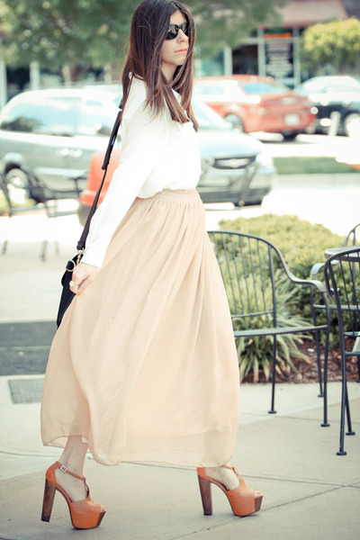 Style by Marina skirt - Style by Marina blouse - Jessica Simpson heels