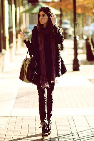 black wedges Pierre Hardy Gap shoes - black superfine jeans