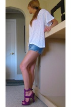 Forever21 shirt - H&M shorts - Jenni Kayne shoes