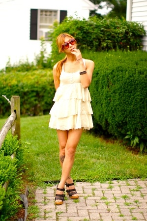 Forever21 dress - Lautre Chose shoes