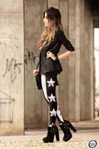 black Alpinestars by Denise Focil jacket - black Lovelysally leggings