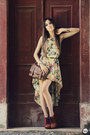 Dark-khaki-floral-mullet-antix-dress-tawny-asos-heels