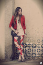 Beige-labellamafia-leggings-brick-red-romwe-blazer