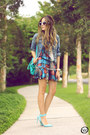 Sky-blue-displicent-dress