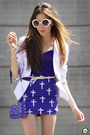 Deep-purple-spiked-labellamafia-bag-white-romwe-sunglasses