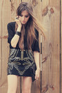 Black-jovonna-london-shirt-black-ville-rose-skirt
