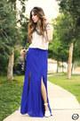 Blue-style-moca-skirt