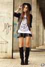 Black-aremo-jacket-black-aremo-skirt-white-aremo-t-shirt