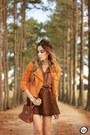 Brown-dutmy-skirt