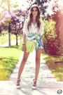 White-labellamafia-shirt-aquamarine-xiquita-bakana-skirt-white-asos-heels