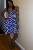 f21 dress - Steve Madden shoes - vintage belt