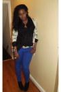 Black-black-boots-bakers-boots-blue-tj-maxx-jeans-black-forever-21-blouse