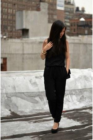 Chanel bag - Zara romper - Yesstyle wedges