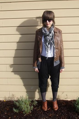 Big W jacket - cotton on top - Valleygirl pants - Secondhand shoes