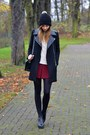 Black-vagabond-boots-black-h-m-hat-black-chicwish-jacket