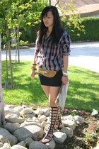 Chanel shoes - Gap shirt - American Apparel dress - vintage belt