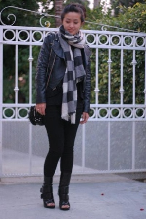 dvf jacket - J Brand jeans - Zara sweater - a wang purse - Givenchy shoes