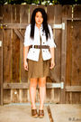 Brown-zara-shoes-brown-dries-van-noten-dress-white-zara-blazer