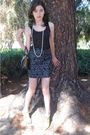 Black-tank-top-top-green-shoes-black-made-by-me-for-my-fashion-class-skirt-