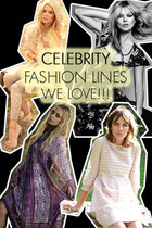 Best Celeb Fashion Lines