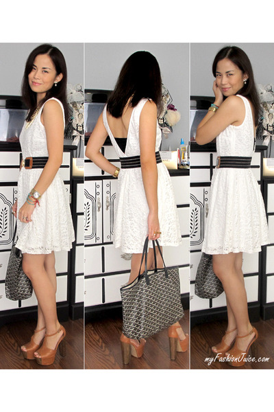 white lace TJ Maxx dress