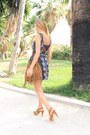Navy-sugarlips-dress-camel-mango-bag-camel-mango-sandals