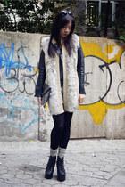 H&M vest - Jeffrey Campbell boots - H&M bag