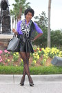 Silk-jcrew-blouse-faux-leather-daily-look-skirt