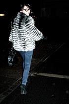 Topshop boots - Zara jeans - Salvatore Ferragamo purse