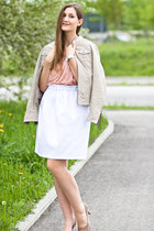 Fornarina dress - Barneys jacket - DIY skirt