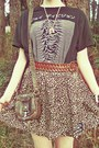 Black-urban-outfitters-shirt-dark-brown-vintage-boots