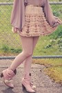 Chicwish-skirt-liz-lisa-shoes-lost-april-blouse-romwe-accessories