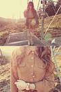 Beige-durango-boots-camel-bqueen-dress-army-green-macys-jacket