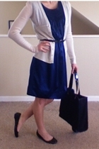 Forever21 dress - Old Navy sweater - me too shoes - trifted belt - Old Navy belt