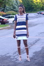 Blue-shift-linen-h-m-dress-white-alexander-wang-sandals