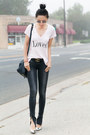 Wildfox-t-shirt-dark-gray-jeans-anine-bing-jeans-light-pink-top