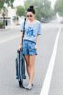 Richard-chai-love-blazer-stylestalker-shorts-ray-ban-sunglasses