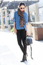 Tibi-boots-hudson-jeans-anthropologie-shirt-louis-vuitton-scarf